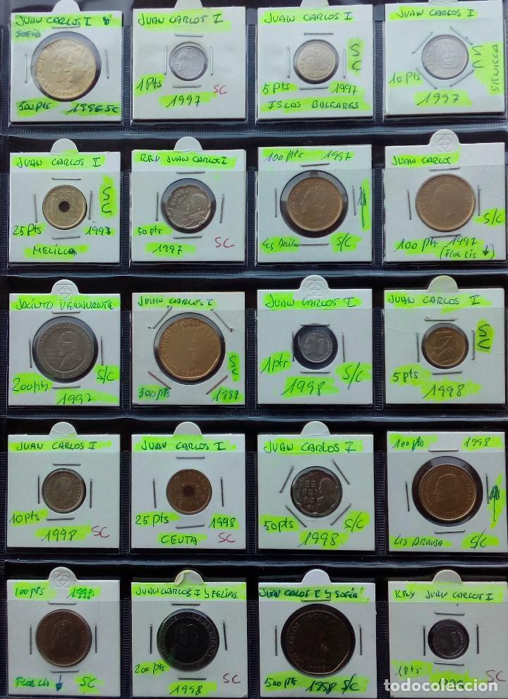 Monedas Juan Carlos I: COLECCION COMPLETA DE JUAN CARLOS I DE 1975 A 2001 (Sin circula)r - Foto 10 - 96949939