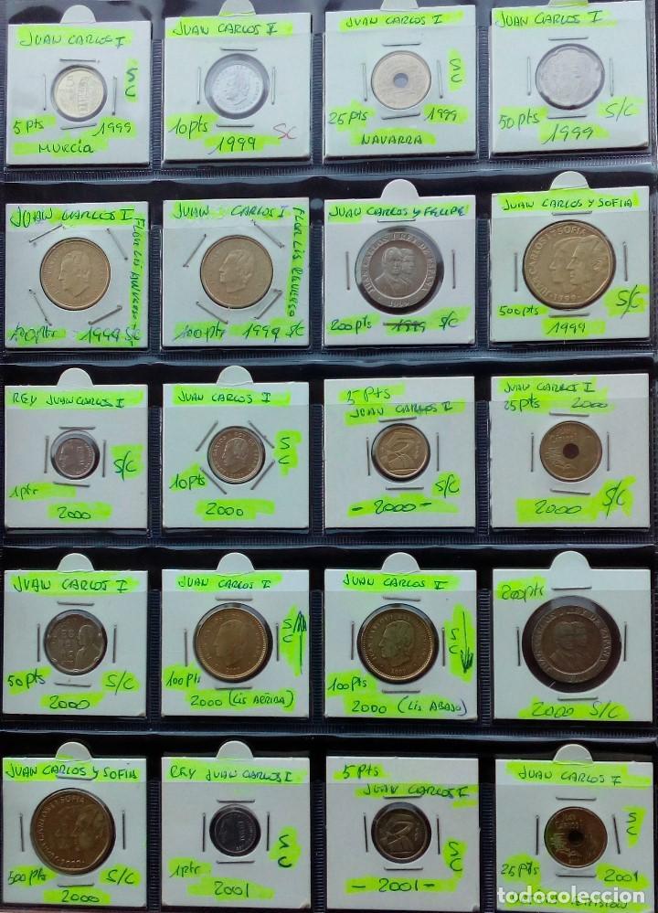 Monedas Juan Carlos I: COLECCION COMPLETA DE JUAN CARLOS I DE 1975 A 2001 (Sin circula)r - Foto 11 - 96949939