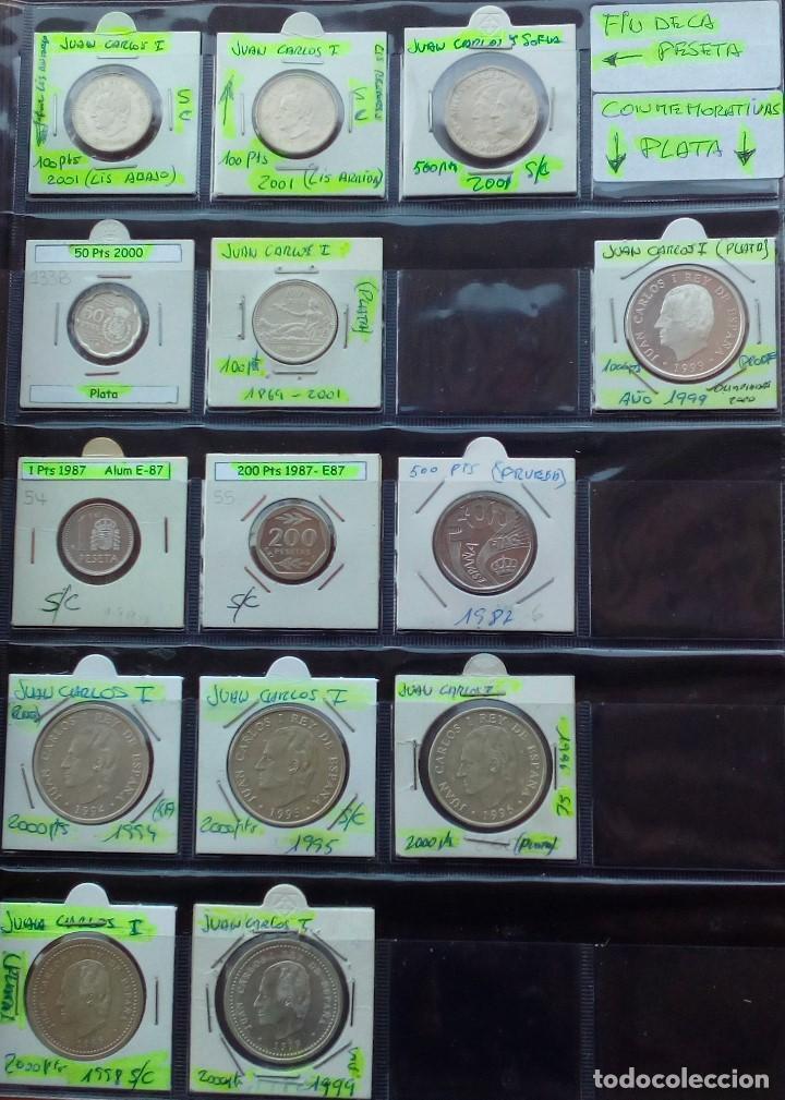 Monedas Juan Carlos I: COLECCION COMPLETA DE JUAN CARLOS I DE 1975 A 2001 (Sin circula)r - Foto 12 - 96949939