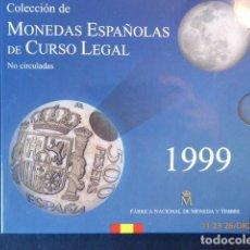 Monedas Juan Carlos I: CARTERITA ESPAÑA, 1999, COMPLETA, . Lote 97280859