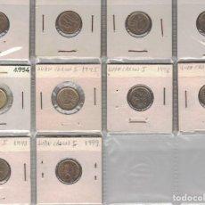 Monedas Juan Carlos I: JUAN CARLOS I 24 MONEDAS TODAS DIFERENTES LOTE 2. Lote 97506175