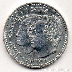 Monedas Juan Carlos I: JUAN CARLOS I Y SOFÍA. 12 EUROS.. Lote 98382331