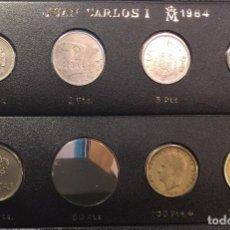 Monedas Juan Carlos I: EMISION SEMICOMPLETA 1984 CON LAS 2 MONEDAS DE 100 PTAS. Lote 98918691