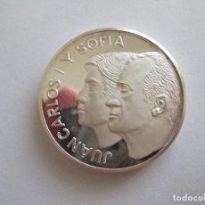 Monedas Juan Carlos I: JUAN CARLOS I * 2 ONZAS DE PLATA PURA. Lote 95820747