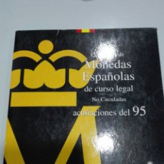 Monedas Juan Carlos I: MONEDAS ESPAÑA CARTERA ACUÑACIÓN DEL 95 . MUY ESCASAS. Lote 101036190
