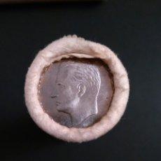 Monedas Juan Carlos I: CARTUCHO DE 50 MONEDAS DE 5 PESETAS DE 1975 *79 SC. Lote 102843679