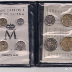 Monedas Juan Carlos I: ESPAÑA - JUAN CARLOS I - CARTERA CON SERIE DE 8 MONEDAS 2001 SIN CIRCULAR. Lote 103088499