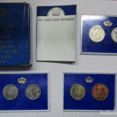 Monedas Juan Carlos I: XXV ANIVERSARIO DE LA BODA DE SS.MM. LOS REYES DE ESPAÑA. 500 PESETAS PRUEBAS. LOTE 0720. Lote 103306683