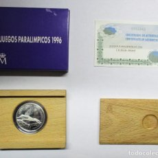 Monedas Juan Carlos I: 1000 PESETAS 1996, JUEGOS PARALIMPICOS. PLATA DE 925/000. CALIDAD PROOF. LOTE 0722. Lote 103310079