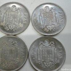 Monedas Juan Carlos I: LOTE 4 MONEDAS DE 100 PESETAS DE JUAN CARLOS SIN CIRCULAR. Lote 104114287