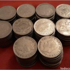 Monedas Juan Carlos I: LOTE 100 MONEDAS DE JUAN CARLOS I 5 PESETAS. Lote 104387706