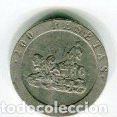 Monedas Juan Carlos I: 200 (DOSCIENTAS PESETAS JUAN CARLOS I AÑO 1990. Lote 104469455