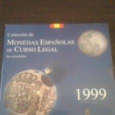 Monedas Juan Carlos I: SERIE EN CARTERA DEL AÑO 1999. Lote 105057883