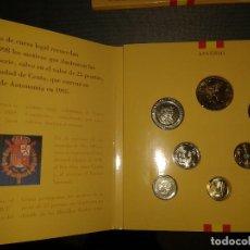 Monedas Juan Carlos I: MONEDAS ESPAÑOLAS EN CARTERA 1998,. Lote 105380503