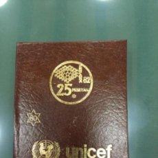 Monedas Juan Carlos I: SÚPER OFERTA DE CARTERA DE MONEDAS DEL MUNDIAL DE FÚTBOL.UNICEF. Lote 106124151