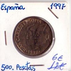Monedas Juan Carlos I: 500 PESETAS 1997 NUEVA REY JUAN CARLOS. Lote 106616263