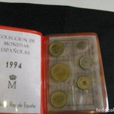 Monedas Juan Carlos I: ESPAÑA. CARTERA FNMT 1994. - 9 PIEZAS. SC. ESCASA LAS DE LAS FOTOS VER TODAS MIS MONEDAS Y BILLETES. Lote 106693211