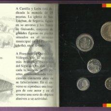 Monedas Juan Carlos I: SET DE MONEDAS DE ESPAÑA 1995.CARTERA OFICIAL FNMT. Lote 107210999