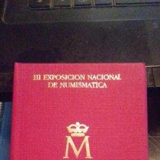 Monedas Juan Carlos I: CARTERA 1987. SERIE 1 PESETA,200 PESETAS Y MEDALLA CONMEMORATIVA.E-87.CONVENCION. Lote 108229971
