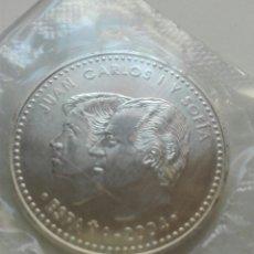 Monedas Juan Carlos I: MONEDA DE PLATA 12 € FELIPE Y LETIZIA 2004. Lote 109425554