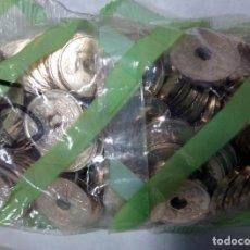 Monedas Juan Carlos I: MONEDA 25 PESETAS AÑO 2001 , BOLSA CON 100 MONEDAS SIN CIRCULAR , FNMT , ORIGINALES ,RB. Lote 111040463