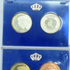 Monedas Juan Carlos I: XXV ANIVERSARIO BODAS JUAN CARLOS Y SOFIA 1987 ESTUCHE CON 6 MONEDAS. Lote 111906395
