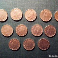 Monedas Juan Carlos I: LOTE 12 MONEDAS 5 PESETAS J.CARLOS SERIE GRANDE, TODAS LAS EMITIDAS. Lote 112469683