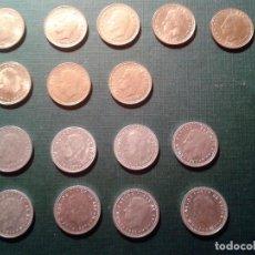 Monedas Juan Carlos I: LOTE MONEDAS 1 PESETA J.CARLOS SERIE GRANDE. Lote 112503799