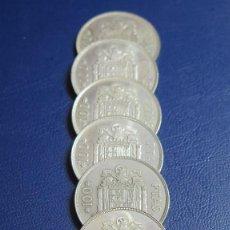 Monedas Juan Carlos I: 8 MONEDAS DE 100 PESETAS. REY JUAN CARLOS I. 1975. Lote 112568859