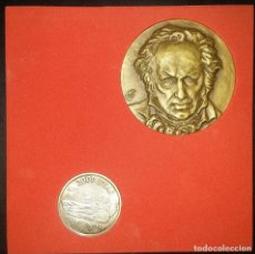 Monedas Juan Carlos I: MONEDA 2000 PESETAS PLATA GOYA 1996 EN ESTUCHE. Lote 113185363