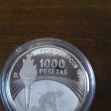Monedas Juan Carlos I: 1.000 PESETAS JUEGOS OLÍMPICOS 1996. PLATA.. Lote 113210431