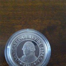 Monedas Juan Carlos I: 500 PESETAS 1991. QUINTO CENTENARIO. PLATA.. Lote 113210955