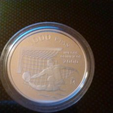 Monedas Juan Carlos I: 1.000 PESETAS JUEGOS OLÍMPICOS 2000. 1999. PLATA.. Lote 113211707