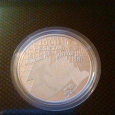 Monedas Juan Carlos I: 1.000 PESETAS MUNDIAL DE FÚTBOL 1998. PLATA.. Lote 113211871
