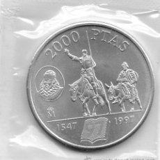 Monedas Juan Carlos I: MONEDA PLATA JUAN CARLOS I REY 1997 2000 PTAS.QUIJOTE Y SANCHO 1547. Lote 114806631