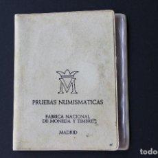 Monedas Juan Carlos I: ESTUCHE PRUEBAS NUMISMATICAS FABRICA NACIONAL DE MONEDA Y TIMBRE / 76 - MADRID. Lote 114884819
