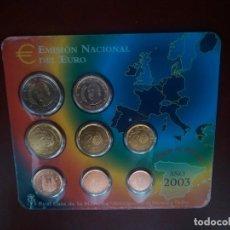 Monedas Juan Carlos I: EMISIÓN DEL EUROS NO CIRCULADOS AÑO. 2003. SON LAS DE LAS FOTOS. Lote 115292827