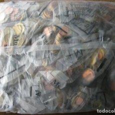 Monedas Juan Carlos I: SACO CON 65 EUROMONEDEROS 2002. FORMATO QUE SIRVIÓ PARA REPARTIR EUROS A LAS ENTIDADES, SIN ABRIR.. Lote 115296151
