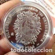 Monedas Juan Carlos I: 700 ANIVERSARIO FUNDACION DE LA VILLA DE BILBAO PLATA AÑO 2000 . Lote 115528463