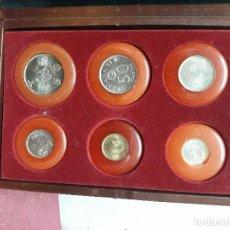 Monedas Juan Carlos I: CAJA MUNDIAL-82. MONEDAS DE 100/50/25/5/1 PTA Y 50 CTS DE JUAN CARLOS I. PARA COLECCIONISTAS!!!. Lote 115624411