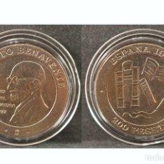Monedas Juan Carlos I: 200 PESETAS JUAN CARLOS I 1997 JACINTO BENAVENTE SIN CIRCULAR. Lote 49035425