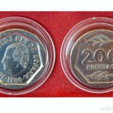 Monedas Juan Carlos I: 200 PESETAS 1986 JUAN CARLOS I ESPAÑA SIN CIRCULAR . Lote 49390894