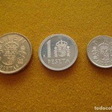 Monedas Juan Carlos I: SÉRIE DE PESETAS 1985 - LISES ARRIBA - JUAN CARLOS I - SIN CIRCULAR -. Lote 116723027