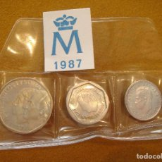 Monedas Juan Carlos I: SÉRIE DE PESETAS 1987 - JUAN CARLOS I - SIN CIRCULAR -. Lote 116723879