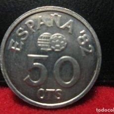 Monedas Juan Carlos I: 50 CENTIMOS 1980 ESTRELLAS 19,80 JUAN CARLOS I MUNDIAL 82 EBC. Lote 205642955