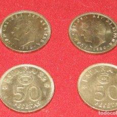 Münzen unter Juan Carlos I - JUAN CARLOS I - LOTE 4 MONEDAS 50 PTS 1980 *80 - MUNDIALES 82 - 117030519