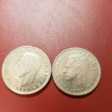 Monedas Juan Carlos I: DOS MONEDAS 25 PESETAS 1983 Y1984 REY JUAN CARLOS. BEC. Lote 117158783