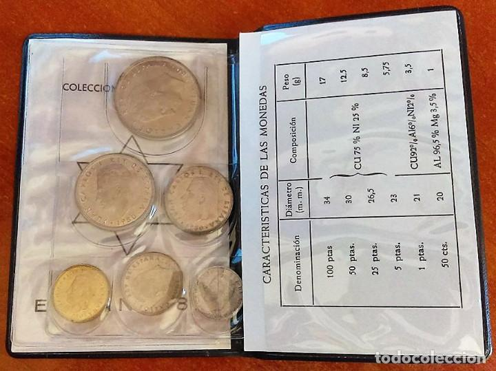 Monedas Juan Carlos I: CARTERA MONEDAS SERIE MUNDIAL 82 AÑO 1980 ,ESTRELLA 1980 - Foto 3 - 117288519