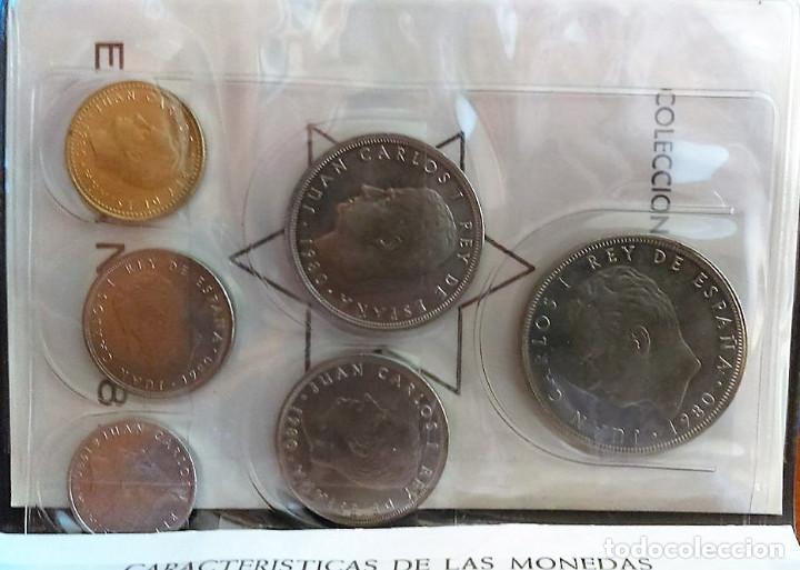 Monedas Juan Carlos I: CARTERA MONEDAS SERIE MUNDIAL 82 AÑO 1980 ,ESTRELLA 1980 - Foto 4 - 117288519