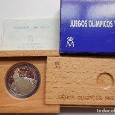 Monedas Juan Carlos I: 1000 PESETAS PLATA AÑO 1995. JUEGOS OLIMPICOS ATLANTA 1996.. Lote 117386415